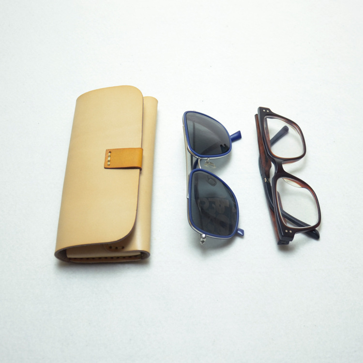 China wholesale personality packaging boxes hard leather sunglasses cases