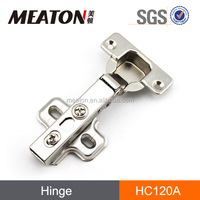 Kitchen hydraulic soft closing slow motion hinge