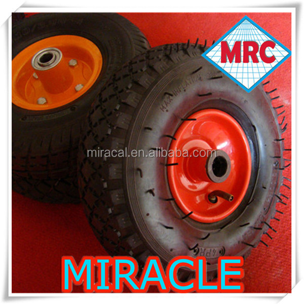supper friction 3.50-4 cart wheels and axles