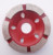 4 inch Discs Cup Segmented Dry Cutting Marble And Granite Continuous Turbo Diamond Grinding Wheel For Grinding Stone