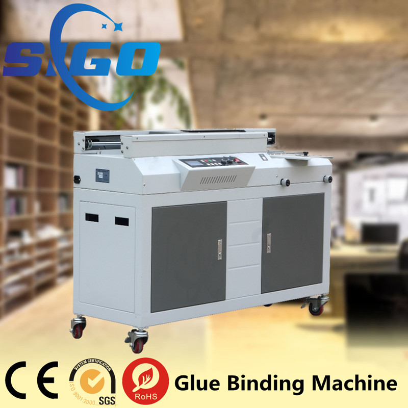 SG-50A+ factory price mini paperback book binding machine