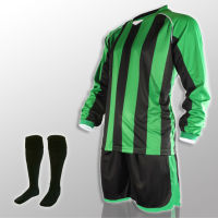 Football Kits- Milan -Green Black.