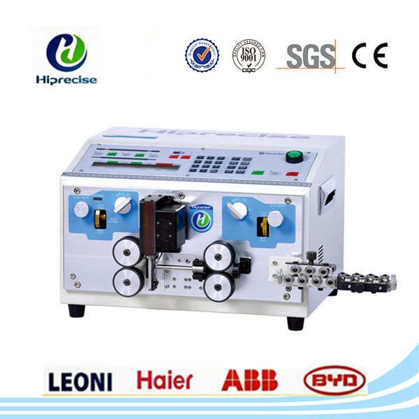 Character LCD modular display,user-friendly operation wire stripper machine