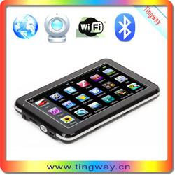 Facotry price 5 inch car navigaiton with bluetooth and AVIN,World-wide map