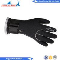 Diving equipment swimming warm scuba finger kevlar diving gloves