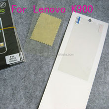 Anti-scratch Screen guard for Lenovo K900, Paypal Escrow etc.
