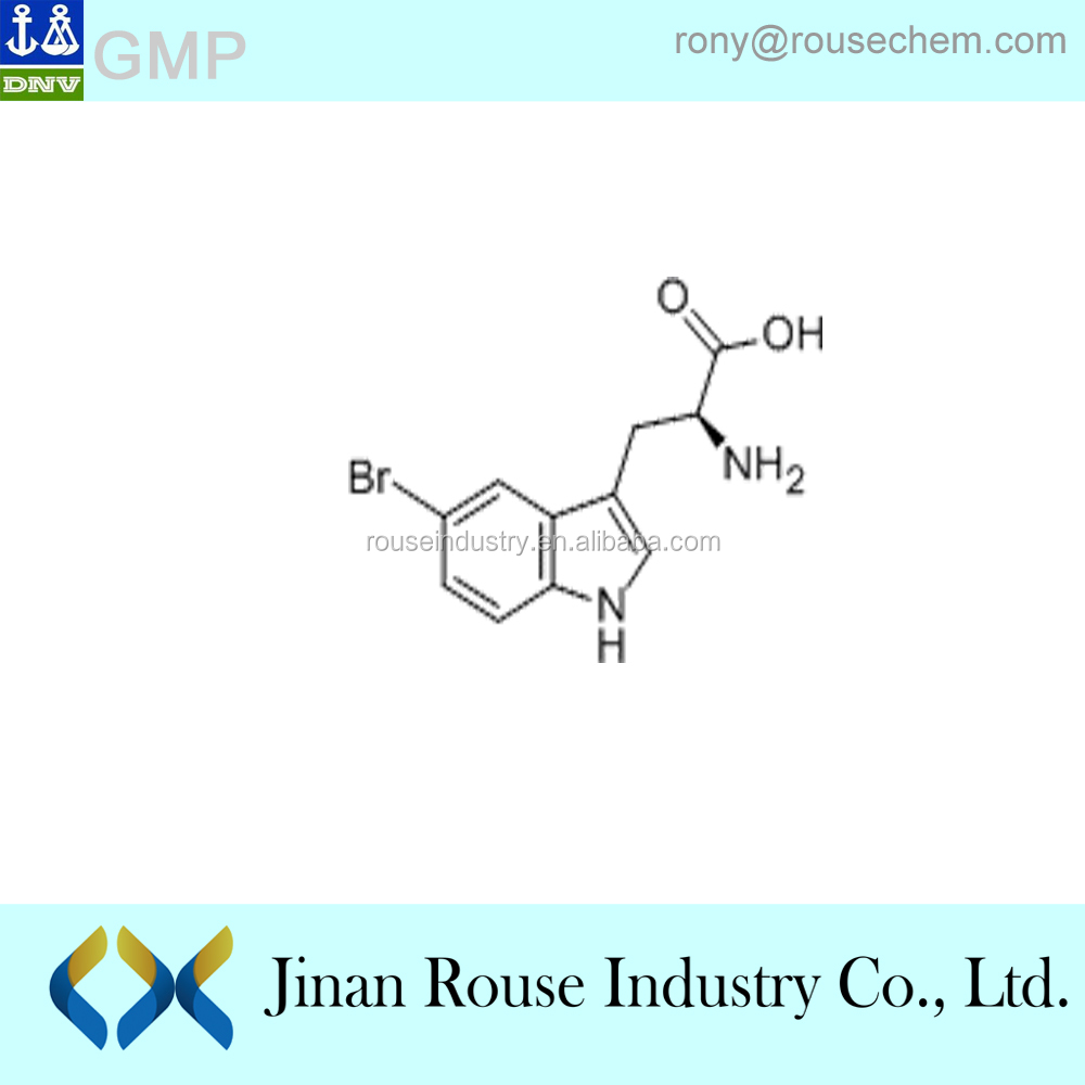 (2S)-2-amino-3-(5-bromo-1H-indol-3-yl)propanoic acid manufacturer CAS:25197-99-3