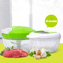 6 in 1 set of Multifunctional Hand Held Japanese pastic food vegetable chopper with slicer and grater