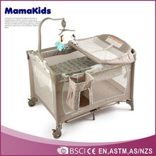 changer can be adjusted according to mother's need baby playpen