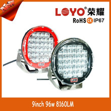 "Wholesaler spot round 96W driving Work Light LED,High Bright car front headlight 9"" 96W Work Light LED"