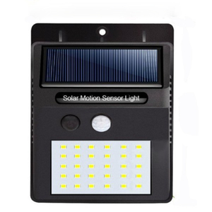 Lead Sun Powered Solar Led Lamps / Garden Wall Mounted Solar Light