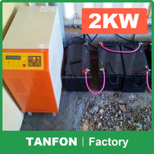 Top quality 250W grid tie solar micro inverter 110v/220v, with solar panels for rooftop micro inverter systems