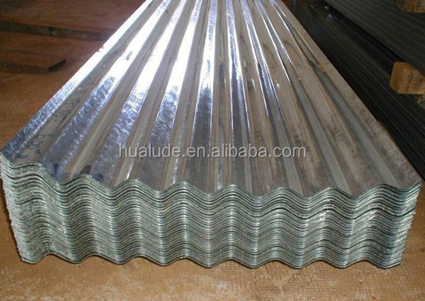 galvanized corrugated metal roofing sheet for shed, 3mm thick corrugated cardboard sheets
