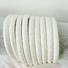 2016 Fashion Style Best DIY Gift Pure White Python Leather Cord Real Snake Skin Cord High Class Bracelet Material 4,5,6 mm