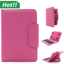 7 8 9 10.1 tablet leather case with keyboard,8 inch keyboard case for android tablet,tablet keyboard case micro usb
