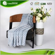 Bulk wholesale anti-pilling embossed thick polyester mexican blanket