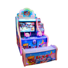 two players Indoor Arcade Amusement Water Kids Shooting Game Machine