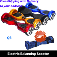 Free Shipping Warehouse in the USA 6.5 inch mobility scooter 2 wheel balancing scooter