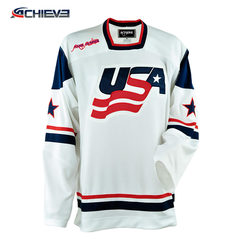 Custom Sublimation Ice Hockey Jersey Manufacture