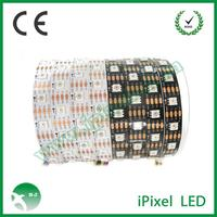 addressable apa102 led strip light dc5v white / black pcb