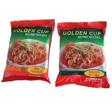 Delicious Chinese instant noodles with seasoning