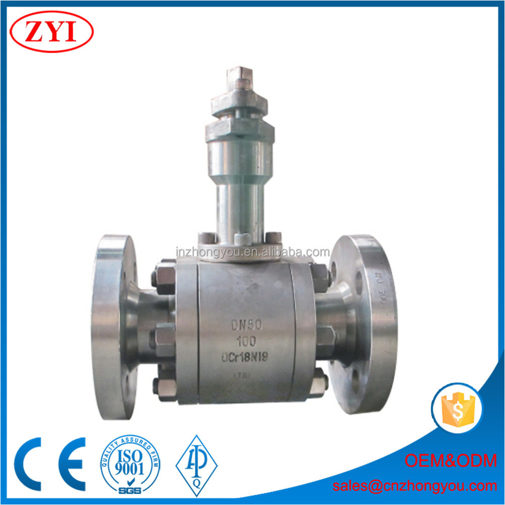 Specialized Production bare stem ball valve with key