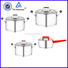 18/8 stainless steel milk pots cookware bakelite handle