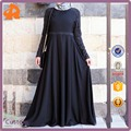 2017 Newest Design High Quality Dubai Abaya with Lace Design