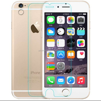 2015 popular items anti broken anti shock tempered glass screen guard protector for Iphone 6
