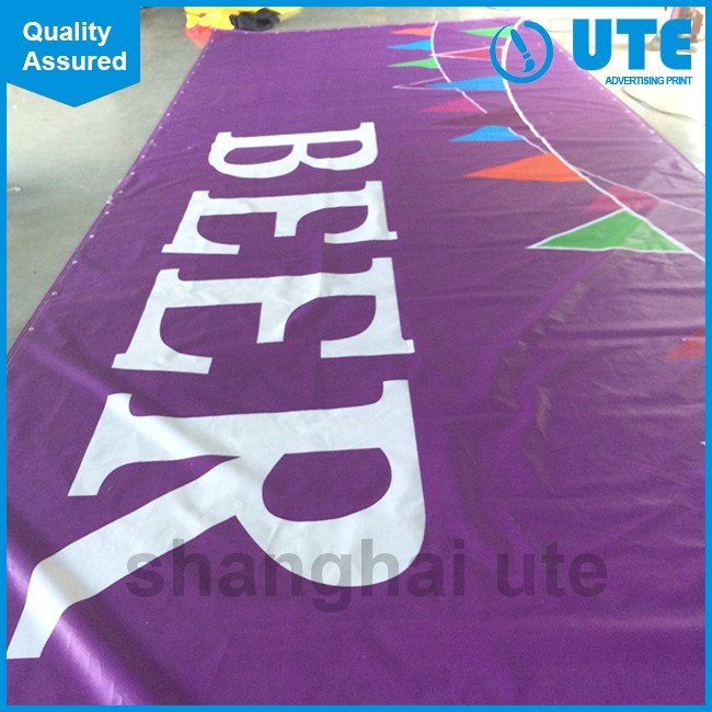 Custom Printed Vinyl Banner,Outdoor Large Printed Banner, Vinyl Mesh Fence Banner for <strong>advertising</strong>