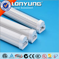 Connected linkable end by end tube integrated structure lamp 1200mm led tube light t5