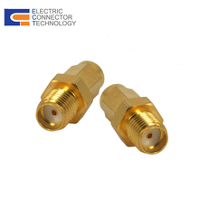 Wholesale and efficient Adptor straight SMA male to SSMA female rf adapter
