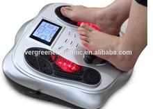 electrocial foot massage machine /electronic pulse tens unit foot massage biological eletromagnetic wave foot massager