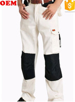 2016 Work Pants With Knee Pad/Cheap Men Padded Cargo Pants