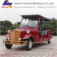 Electric personal transport vehicle/electric powered car sightseeing electric retro car