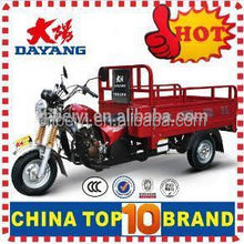 2016 adult 250cc/150cc ISO9001 200cc cng Dayang auto rickshaw light load cargo three wheel motorcycle