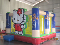 High quality and cheap hello-kitty bouncing castle NB042