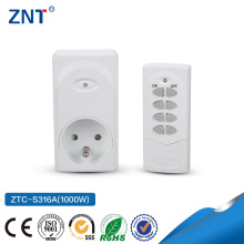 ZTC-S316A(1000W), 1v1,best quality, low price, CE,TUV,GS, Power supply electrical ABS European wall switch socket