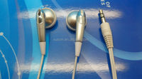 Factory for headpset Nice disposable earbud,disposable headphone cheap headset for fitness promotion