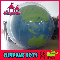 BL-419 Sunpeak Park Advertising Fashion Inflatable Shaped Helium Planet Balloon