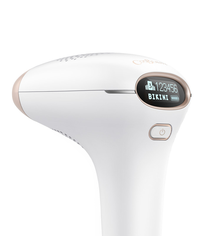 CosBeauty newest 2017 300,000 flashes japan tv best selling most popular portable body face bikini IPL hair removal