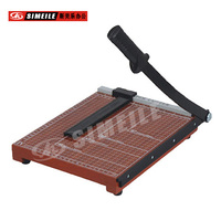 A5 wooden base carbon steel blade guillotine cutter