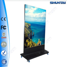flex banner led backlit frameless standing sign board