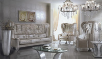 BE11103B-Italian antique style sofa classical sofa sets discount italian furniture