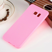 Newest cheap import TPU frosted cell phone case solid colors for samsung s6