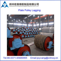 conveyor pulley coating, rubber cover for pulley