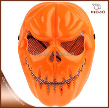 2016 hot sale Funny Pumpkin Style Cool Monster PVC Mask for Halloween