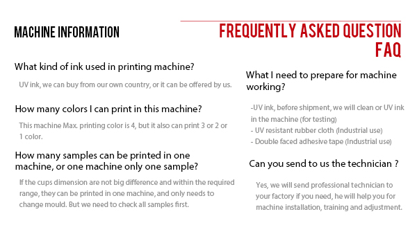 high standard pp cup offset printing machine six printer