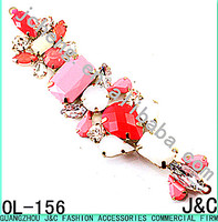 colorful resin bead shoes accessories/shoes chain/shoes ornament