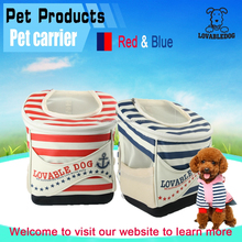 Wholesale Japanese dog carrier pet product Multifunction carrier /Color stripe Backpack pet